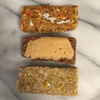 Gluten-free bars from WunderBar