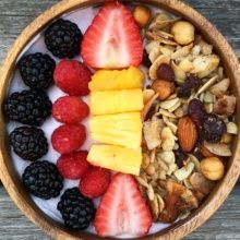 Gluten-free Yogurt Bowl with Paleo Granola