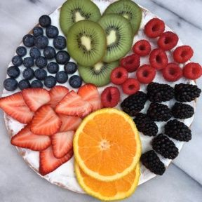 Gluten-free Yogurt Fruit Pizza