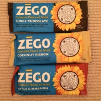 Gluten-free bars from Zego Snacks