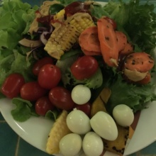 Gluten-free veggie salad from Zico's Brazilian Grill & Bar