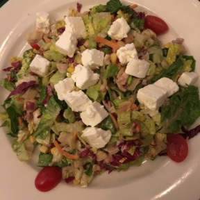 Gluten-free salad from Zody's at Sterling