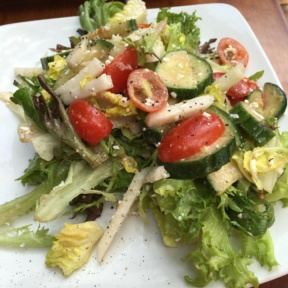 Gluten-free house salad from Zolo Grill