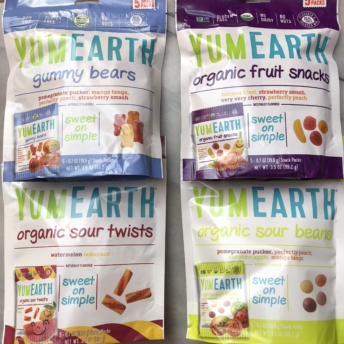 Gluten-free organic candy from YumEarth