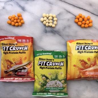 Gluten-free high protein puffs by Fit Crunch