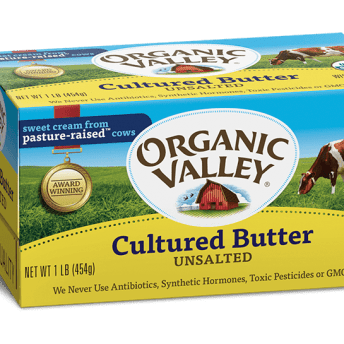 Gluten-free butter by Organic Valley