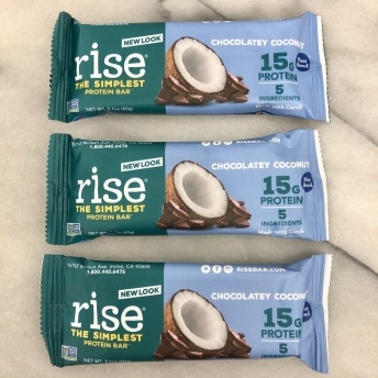 Gluten-free bars by Rise Bar