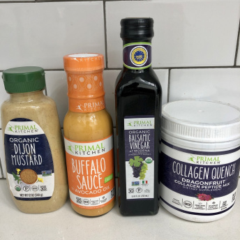 Gluten-free collagen and dressings by Primal Kitchen