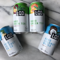 LQD Creative Liquids in coconut water and green tea