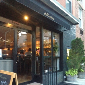 dell'anima in West Village NYC
