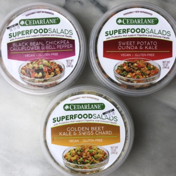 Superfood salads by Cedarlane
