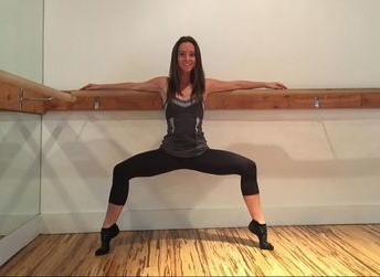Jackie at Barreworks in Santa Monica