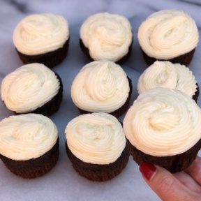 Gluten-free Chocolate Cupcakes with Buttercream Frosting