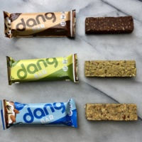 Gluten-free vegan keto bars by Dang