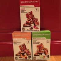 Gluten-free bars from goodnessknows