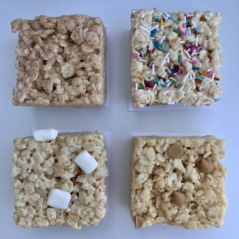 Gluten-free crispies by Bliss and Baker