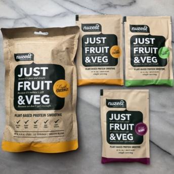 Gluten-free just fruit & veg by Nuzest