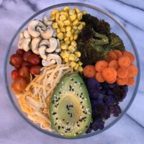 Gluten-free Vegan Veggie Salad