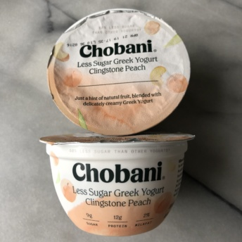 Gluten-free yogurt by Chobani