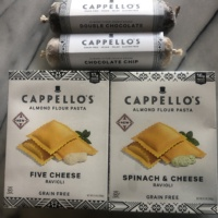 Gluten-free grain-free cookie dough and ravioli by Cappello's
