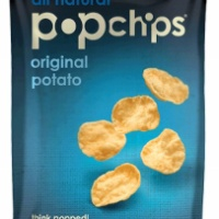 Gluten free potato chips by popchips