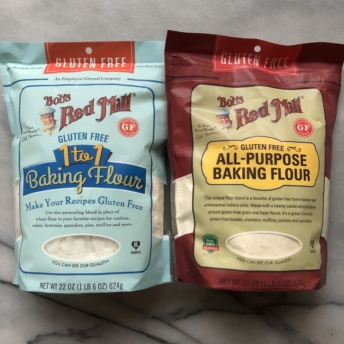 Gluten-free flour by Bob's Red Mill