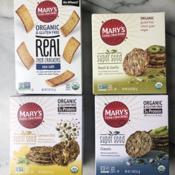 Gluten-free crackers by Mary's Gone Crackers