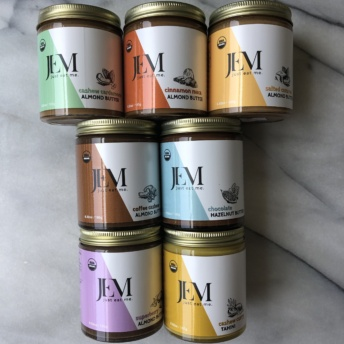 Nut butters by Jem Nut Butters