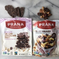 Chocolate bark and trail mix by Prana