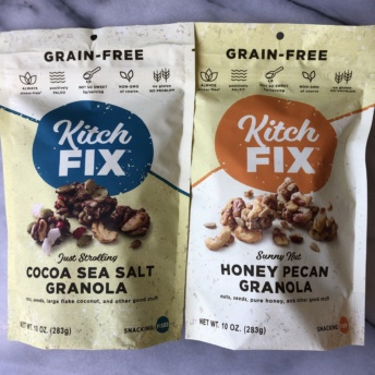 Gluten-free grain-free granola by KitchFix