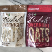 Gluten-free oats from Rachel's Overnight Oats