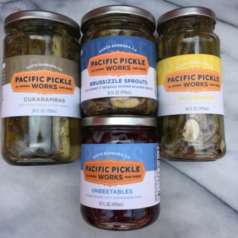 Gluten-free pickled veggies from Pacific Pickle Works