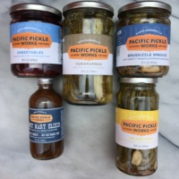 pickled veggies and drink mixers from Pacific Pickle Works
