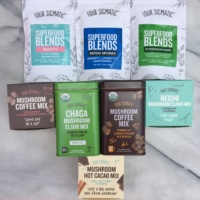 Mushroom coffees, elixirs, and superfood blends from Four Sigmatic