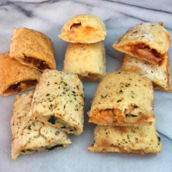 Five gluten-free stuffed sandwiches by Gluten Free Delights