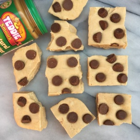 Peanut Butter Cup Fudge using Teddie Peanut Butter