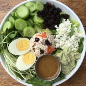 Gluten-free and non-GMO salad from GOODONYA