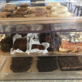 All the baked goods at GOODONYA are gluten-free