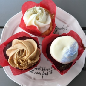 Gluten-free cupcakes from Sugar and Scribe