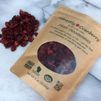 Unsweetened cranberries by Honestly Cranberry
