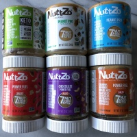 Gluten-free nut butters by NuttZo
