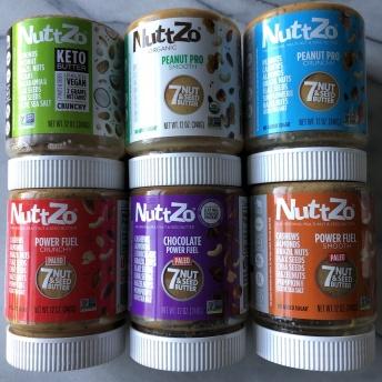 Gluten-free nut butters by NuttZo