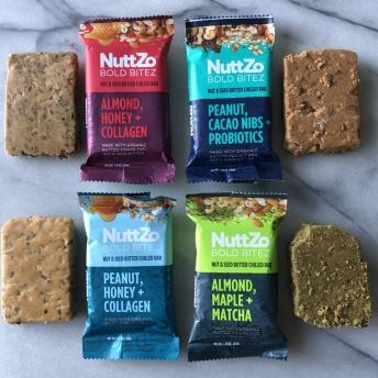 Gluten-free bars by NuttZo