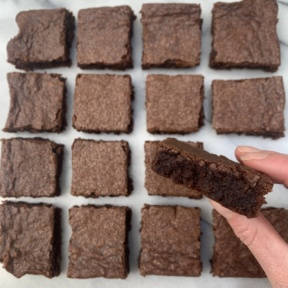 Delicious gluten-free Brownies