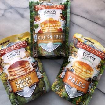 Gluten-free and paleo pancake mixes by Birch Benders