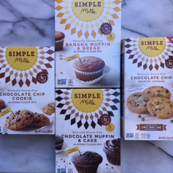 Gluten-free baking mixes and cookies from Simple Mills