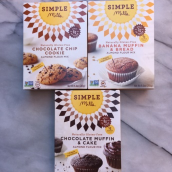 Gluten-free baking mixes from Simple Mills