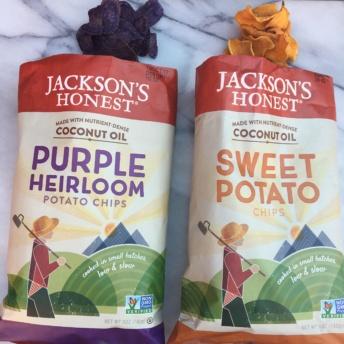 Gluten-free chips made with coconut oil by Jackson's Honest