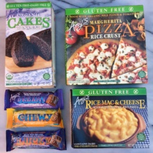 Gluten-free products by Amy's Kitchen