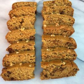 Gluten-free Maple Walnut Banana Bread